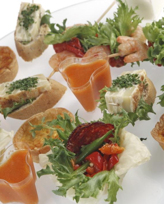 Cocktail Tapas platter
