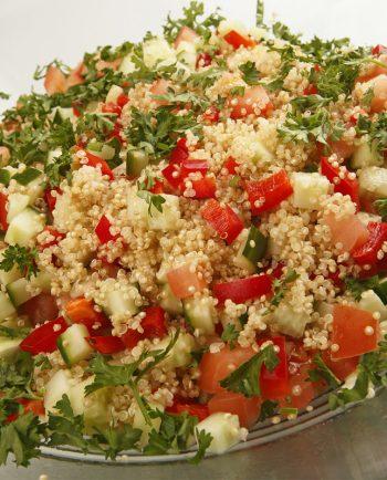 Kvinoa tabouleh salad